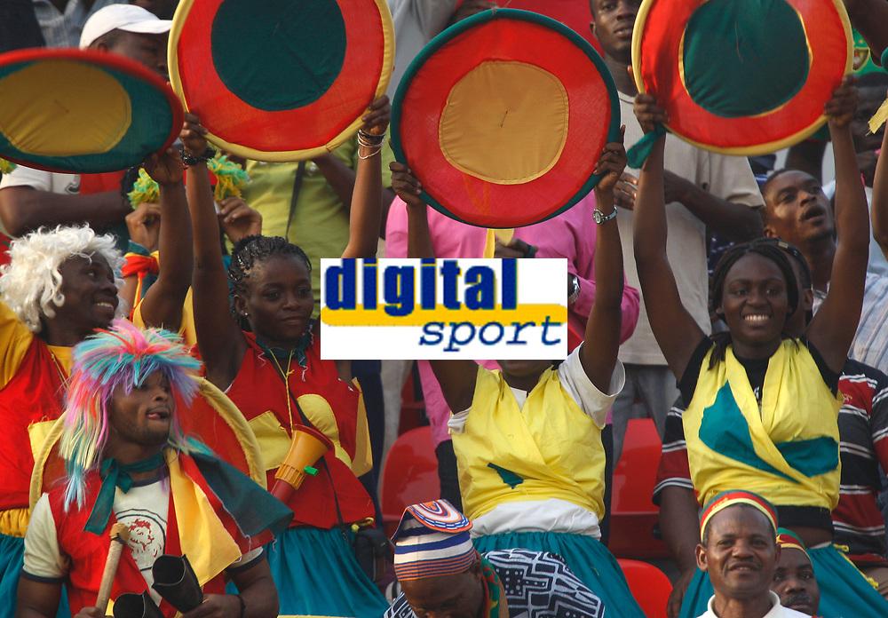Photo: Steve Bond/Richard Lane Photography.<br /> Egypt v Cameroun. Africa Cup of Nations. 22/01/2008. Cameroon fans