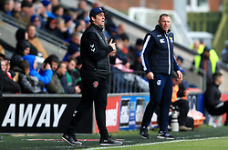 Fleetwood Town manager Joey Barton shouts instructions to his players - Mandatory by-line: Matt McNulty/JMP - 27/04/2019 - FOOTBALL - Highbury Stadium - Fleetwood, England - Fleetwood Town v Bristol Rovers - Sky Bet League One