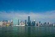 Midtown Manhattan Skyline. New York City,New York,U.S.A.