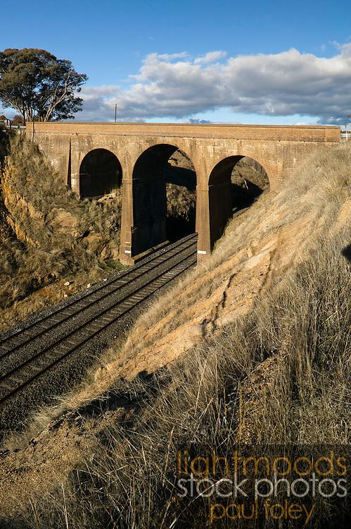 Rail Transport Infrastructure, rural NSW, Australia