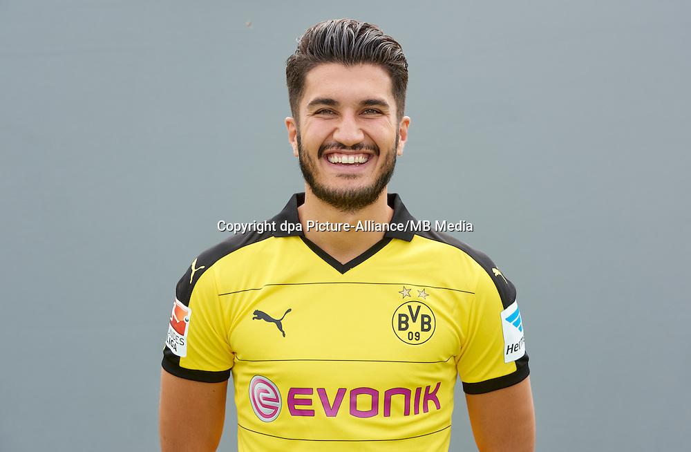 Photocall German Soccer Bundesliga 2015/16 - Borussia Dortmund on 15 July 2015 in Dortmund, Germany: Nuri Sahin