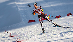 28.01.2017, Casino Arena, Seefeld, AUT, FIS Weltcup Nordische Kombination, Seefeld Triple, Langlauf, im Bild Lukas Klapfer (AUT) // Lukas Klapfer of Austria during Cross Country Gundersen Race of the FIS Nordic Combined World Cup Seefeld Triple at the Casino Arena in Seefeld, Austria on 2017/01/28. EXPA Pictures © 2017, PhotoCredit: EXPA/ JFK