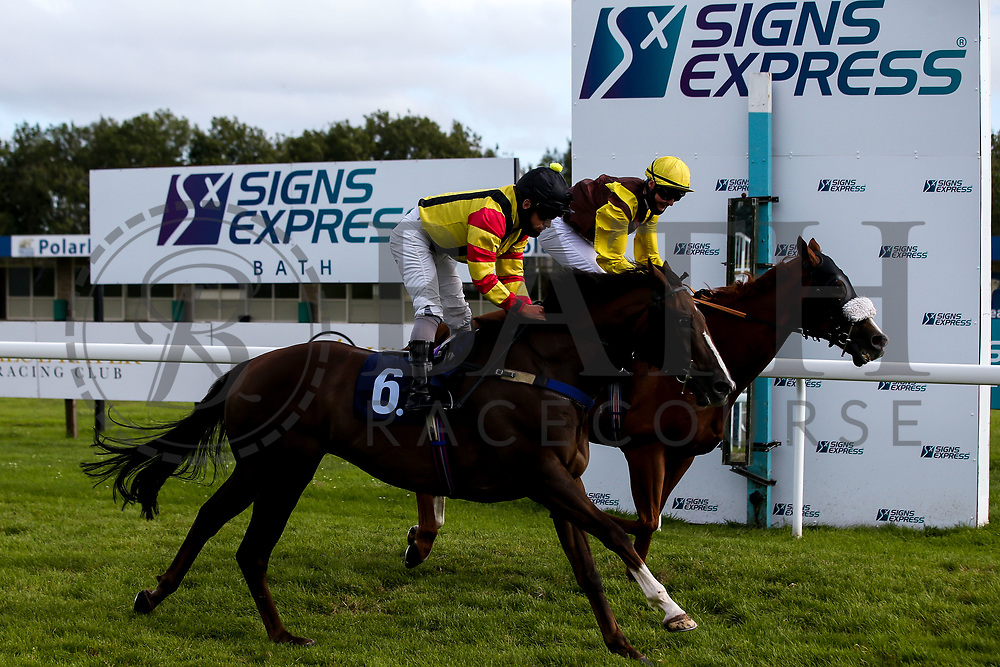 Celerity ridden by Noel Garbutt and trained by Lisa Williamson - Mandatory by-line: Robbie Stephenson/JMP - 18/07/2020 - HORSE RACING- Bath Racecourse - Bath, England - Bath Races 18/07/20