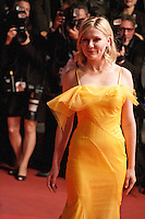 Actress Kirsten Dunst at the gala screening for the film The Neon Demon at the 69th Cannes Film Festival, Friday 20th May 2016, Cannes, France. Photography: Doreen Kennedy
