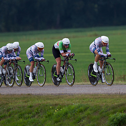 Boels Rental Ladies Tour Coevorden TTT 8th Team Argos Shimano  Amy Pieters, Kirsten Wild, Esra Tromp, Janneke Busser, Willeke Knol, Elke Gebhart