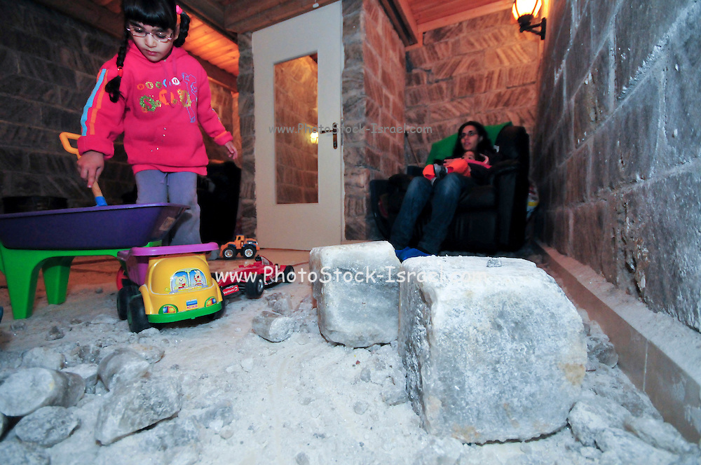 "Modern ""Salt rooms"" allows a patient to sits in a room built of salt blocks mined from  deep mines. The air in the salt room contains high quantities of negative ions, which seem to clear mucus and purify the lungs. The salt also helps asthmatics cough up their mucus. There are also ""salt inhalers"" on the market for treating asthma."