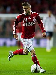 [DK=06-09-2011: EURO 2012 Kval. Danmark vs. Norge -  Lasse Schöne, Danmark..© Lars Rønbøg / Sportsagency ].[UK=06-09-2011: EURO 2012 Qual. Denmark vs. Norway - Lasse Schoene, Denmark..© Lars Ronbog / Sportsagency ].