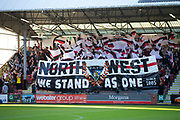 2nd Aug 2019, East End Park, Dunfermline, Fife, Scotland, Scottish Championship football, Dunfermline Athletic versus Dundee;  Dunfermline Athletic fans