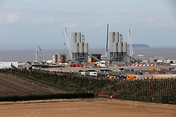 UK ENGLAND SOMERSET HINCKLEY POINT 1SEP16 - General view of Hinckley Point nuclear power station, Somerset, England.<br /> <br /> jre/Photo by Jiri Rezac<br /> <br /> © Jiri Rezac 2016