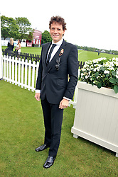 IOAN GRUFFUDD at the Cartier Queen's Cup Polo Final, Guards Polo Club, Windsor Great Park, Berkshire, on 17th June 2012.