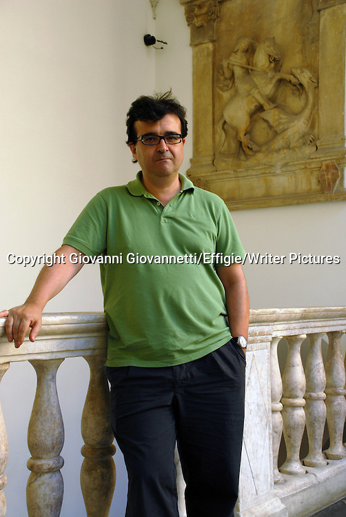 Cercas Javier, 2010<br /> <br /> 04/09/2010<br /> Copyright Giovanni Giovannetti/Effigie/Writer Pictures<br /> NO ITALY, NO AGENCY SALES