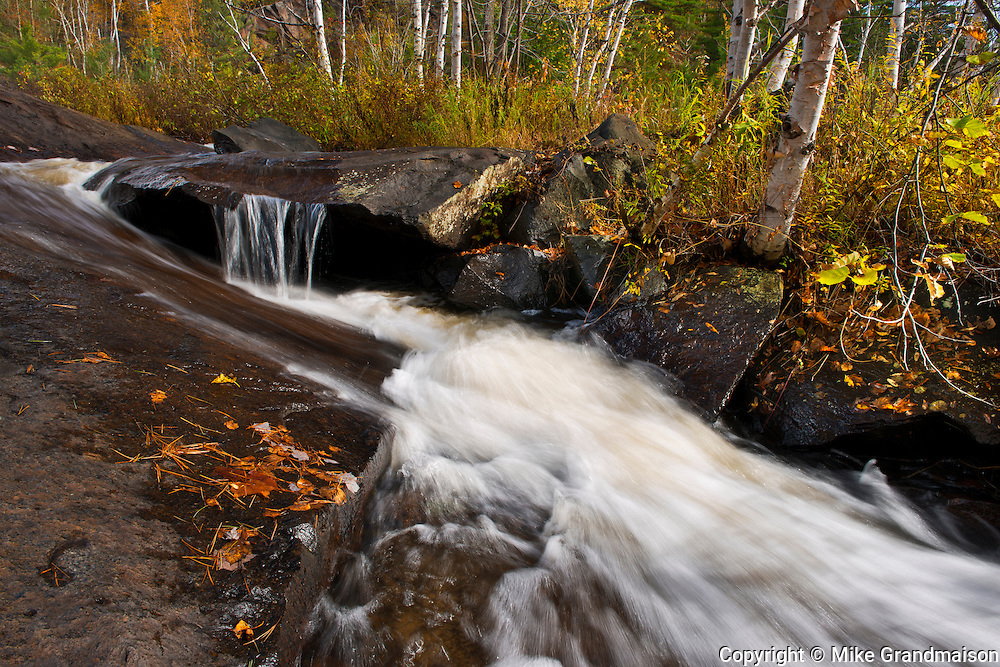 Tributary of the Onaping River<br /> Onaping Falls<br /> Ontario<br /> Canada