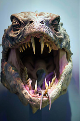 © Licensed to London News Pictures 27/02/2011 London, UK. .The Basilisk, one of the models in The Creature Room inside The Warner Brothers Studio Tour, Leavesden, Herts where all 8 Harry Potter movies were made and opens to the public this week..Photo credit : Simon Jacobs/LNP