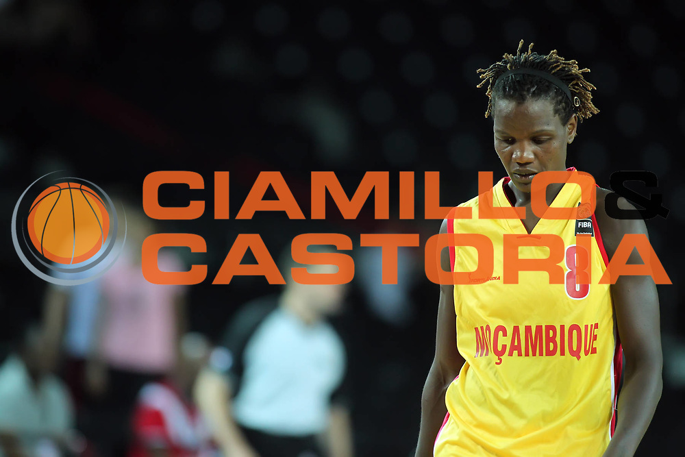 DESCRIZIONE : Ankara Turkey FIBA Olympic Qualifying Tournament for Women 2012 Mozambique Korea Mozambico Corea del sud<br /> GIOCATORE : Clarisse MACHANGUANA <br /> SQUADRA : Mozambique Korea Mozambico Corea del sud<br /> EVENTO :  FIBA Olympic Qualifying Tournament for Women 2012<br /> GARA : Mozambique Korea Mozambico Corea del sud<br /> DATA : 26/06/2012<br /> CATEGORIA : <br /> SPORT : Pallacanestro <br /> AUTORE : Agenzia Ciamillo-Castoria/ElioCastoria<br /> Galleria : FIBA Olympic Qualifying Tournament for Women 2012<br /> Fotonotizia : Ankara Turkey FIBA Olympic Qualifying Tournament for Women 2012 Mozambique Korea Mozambico Corea del sud<br /> Predefinita :