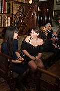 STEPHANIE CHENG; CHARLOTTE CLIFFE, Everyman 25th Anniversary party, Spencer House. St. James' Place. London. SW1. 26 October 2016