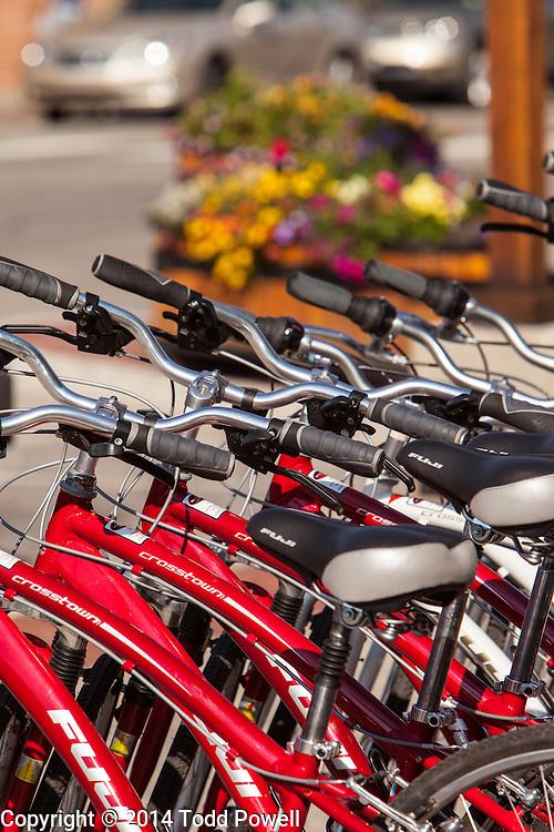 Rental Bikes at Rebel Sports on Frisco Main Street, Frisco, Colorado