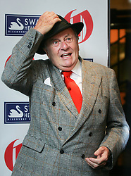 © under license to London News Pictures. 10/02/11 Barry Humphries, winner of the Oldie of the Year Award at the 2011 Oldie of the Year Awards at Simpsons On The Strand. Photo credit should read: Olivia Harris/ London News Pictures