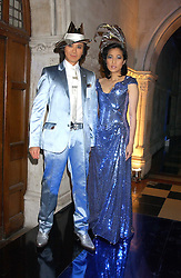 ANDY & PATTI WONG at their annual Chinese New Year party, this year celebrating the year of the dog held at The Royal Courts of Justice, The Strand, London WC2 on 28th January 2006.<br />