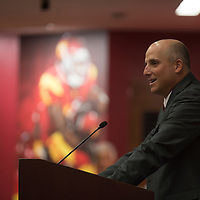 USC Head Coach Clay Helton Introduction