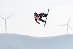 19.02.2018, Alpensia Ski Jumping Centre, Pyeongchang, KOR, PyeongChang 2018, Snowboard, Damen, Big Air, im Bild Sofya Fedorova (OAR) // Sofya Fedorova of Olympic Athlete from Russia during the Ladies Snowboard Big Air of the Pyeongchang 2018 Winter Olympic Games at the Alpensia Ski Jumping Centre in Pyeongchang, South Korea on 2018/02/19. EXPA Pictures © 2018, PhotoCredit: EXPA/ Johann Groder