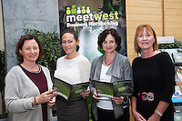 300 Businesses Expected to Attend West of Ireland&rsquo;s Largest Business Networking Event<br />  Registration is now open for MeetWest 2014, the largest business networking event in the West of Ireland this year. <br /> Hosted by Galway City Council, MeetWest 2014 is a two-day business networking forum taking place at the Galway Bay Hotel, Salthill, Galway on November 20th and 21st 2014.<br /> Pictured at the launch of MeetWest2014 in City Hall, Galway were Miriam Ni Neill, Udaras na Gaeltachta; Catherina Blewitt, IDA; Ann Finn, Enterprise Ireland; Mary Keaveney, Western Development Commission . Photo:Andrew Downes