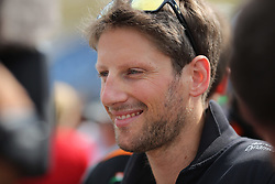 23.07.2015, Hungaroring, Budapest, HUN, FIA, Formel 1, Grand Prix von Ungarn, Vorberichte, im Bild Romain Grosjean (Lotus F1 Team/Renault) // during the preperation of the Hungarian Formula One Grand Prix at the Hungaroring in Budapest, Hungary on 2015/07/23. EXPA Pictures © 2015, PhotoCredit: EXPA/ Eibner-Pressefoto/ Bermel<br /> <br /> *****ATTENTION - OUT of GER*****