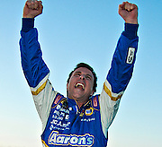 Winner of the 2007 NASCAR Sams Town 250 Memphis Motorsports Park David Reutimann.