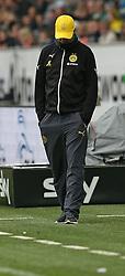 Football: Germany, 1. Bundesliga, VfL Wolfsburg - Borussia Dortmund (BVB), Wolfsburg - 16.05.2015,<br /> Trainer Juergen Klopp (Dortmund) dejected<br /> <br /> &copy; pixathlon<br /> <br /> +++ NED out !!! +++