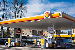 General view of a Shell garage in Crouch End, north London. Shell is currently the most valuable British brand, according to analysts Brand Finance's directory. Picture date: Thursday March 9, 2017. Photo credit should read: Matt Crossick/ EMPICS Entertainment.
