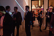Wallpaper  Design Awards in partner ship with aSton Martin. The Edison, 223-231 Old Marylebone Road, London. 12 January 2011. . This year it is in partnership with Aston Martin.-DO NOT ARCHIVE-© Copyright Photograph by Dafydd Jones. 248 Clapham Rd. London SW9 0PZ. Tel 0207 820 0771. www.dafjones.com.