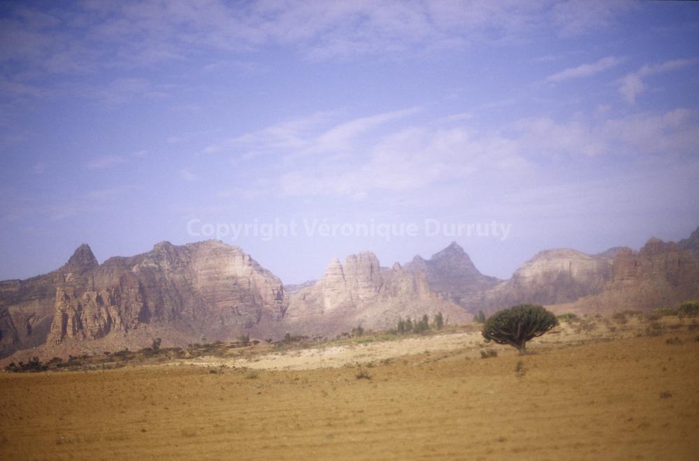 Tigray landscape, Ethiopia