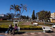 Sao Gotardo_MG, Brasil...Praca Sao Sebastiao em Sao Gotardo...The Sao Sebastiao square in Sao Gotardo...Foto: MARCUS DESIMONI / NITRO.