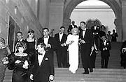 guests including Nancy Kissinger, Costume Institute, Metropolitan Museum, 1995.New York. © Copyright Photograph by Dafydd Jones 66 Stockwell Park Rd. London SW9 0DA Tel 020 7733 0108 www.dafjones.com
