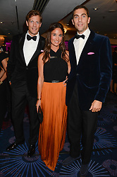 British fine jewellery brand Boodles welcomed guests for the 2013 Boodles Boxing Ball in aid of Starlight Children's Foundation held at the Grosvenor House Hotel, Park Lane, London on 21st September 2013.<br /> Picture Shows:-NICO JACKSON, PIPPA MIDDLETON and HUGH VAN CUTSEM.<br /> <br /> Press release - https://www.dropbox.com/s/a3pygc5img14bxk/BBB_2013_press_release.pdf<br /> <br /> For Quotes  on the event call James Amos on 07747 615 003 or email jamesamos@boodles.com. For all other press enquiries please contact luciaroberts@boodles.com (0788 038 3003)