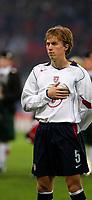 Photo: Andrew Unwin.<br /> Scotland v USA. International Challenge. 12/11/2005.<br /> The USA's Brian Carroll.