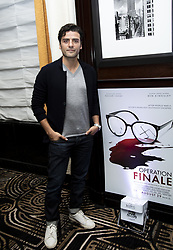 August 18, 2018 - New York, New York, USA - Oscar Isaac stars in the movies Life Itself (Amazon) and Operation Finale  (Credit Image: © Armando Gallo via ZUMA Studio)