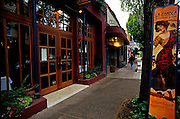 Image of downtown McMinnville, Oregon, Pacific Northwest