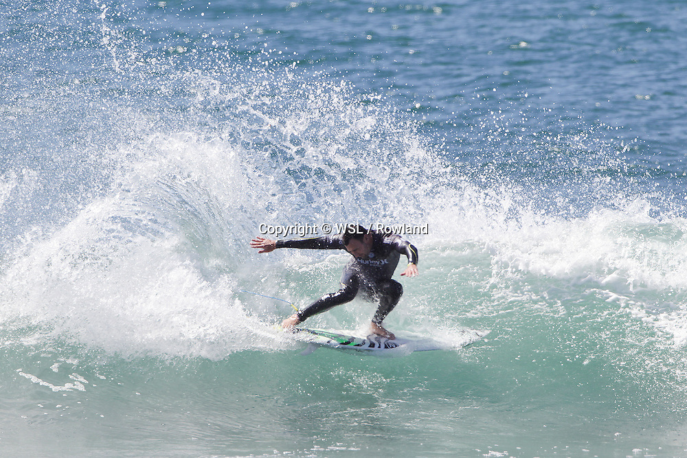 Joel Parkinson placed runner-up to Jordy Smith in the Swatch Women's Pro final.