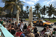 Front Porch Café, Miami Beach, Ocean Drive..Florida 2009..Foto © Stefan Falke.