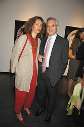 MASSIMO & ILARIA TOSATO at a private view of Guido Mocafico's work entitled Movement held at the Hamilton Gallery, Carlos Place, London on 1st May 2007.<br />