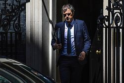© Licensed to London News Pictures. 14/05/2019. London, UK. Conservative Chief Whip Julian Smith leaves 10 Downing Street after the Cabinet meeting. Photo credit: Rob Pinney/LNP
