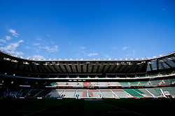 General View inside Twickenham before the game - Mandatory byline: Rogan Thomson/JMP - 07966 386802 - 15/08/2015 - RUGBY UNION - Twickenham Stadium - London, England - England v France - QBE Internationals 2015.