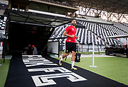 THESSALONIKI, GREECE - AUGUST 16: Saman Ghoddos of Oestersunds FK during training ahead of the UEFA Europa League Qualifying Play-Offs round first leg match between PAOK Saloniki and &Ouml;stersunds FK at Toumba Stadium on August 16, 2017 in Thessaloniki, Greece. Foto: Nils Petter Nilsson/Ombrello<br /> ***BETALBILD***