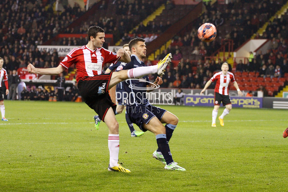 Jamie Murphy during the The FA Cup match between Sheffield Utd and Crewe Alexandra at Bramall Lane, Sheffield, England on 18 November 2014.
