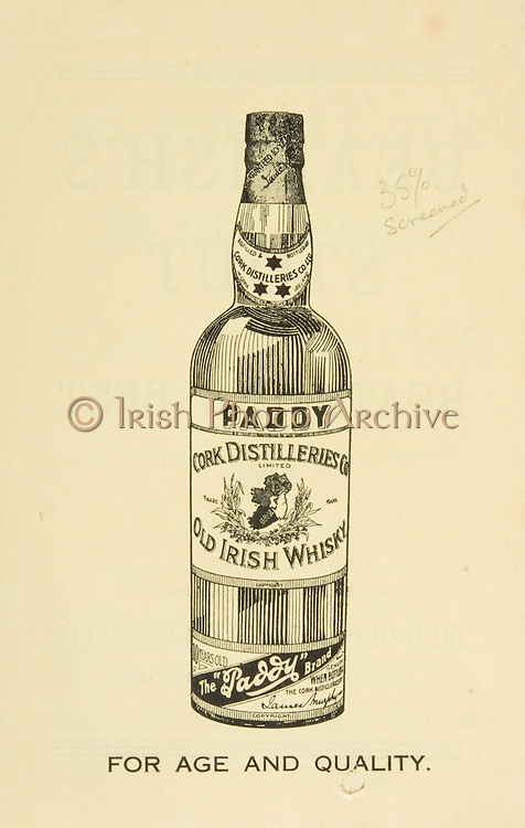 Munster Senior and MInor Hurling Championship Final,.22071934MSMHCF,..22.07.1934, 07.22.1934, 22nd July 1934,.Senior Limerick v Waterford,.Minor Tipperary v Waterford,..Paddy Old Irish Whiskey, for age and quality,.