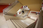 Universities in Vienna, Austria..TU (Technische Universität)..Staircase.