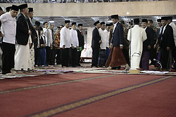 June 25, 2017 - Jakarta, Jakarta, Indonesia - Jakarta, 25 JUNE 2017 : Muslim from Indonesia held Eiid Fitr at Istiqlal Mosque-Jakarta. Eid Fitr in 2017 also attended by Indonesian Presiden JOKO WIDODO. England Ambassador for Indonesia also attend the pray. (Credit Image: © Donal Husni via ZUMA Wire)