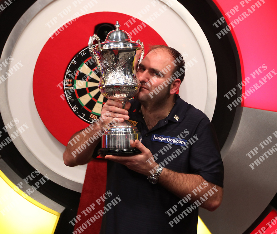 BDO WORLD CHAMPIONSHIPS 2013.FINAL SCOTT WAITS V TONY OSHEA