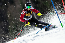 VAN DEN BROECKE Dries of Belgium during the Audi FIS Alpine Ski World Cup Men's Slalom 58th Vitranc Cup 2019 on March 10, 2019 in Podkoren, Kranjska Gora, Slovenia. Photo by Matic Ritonja / Sportida