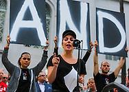 6月13日,在美国洛杉矶市政大楼外,歌手Lady Gaga出席悼念活动。当日,美国洛杉矶举行烛光守夜活动,数千民众参加悼念周日发生在美国佛罗里达州奥兰多市一家夜总会的枪击事件遇难者。新华社发 (赵汉荣摄)<br /> Singer Lady Gaga joins several thousand people attending a candlelight vigil at Los Angeles City Hall for the victims of Sunday's Orlando nightclub shooting massacre, in Los Angeles, California, the United States, on Monday, June 13, 2016. (Xinhua/Zhao Hanrong)(Photo by Ringo Chiu/PHOTOFORMULA.com)<br /> <br /> Usage Notes: This content is intended for editorial use only. For other uses, additional clearances may be required.